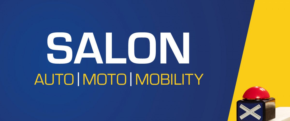 Febiac Salon de l'auto Mobiliquizz logo buzzer